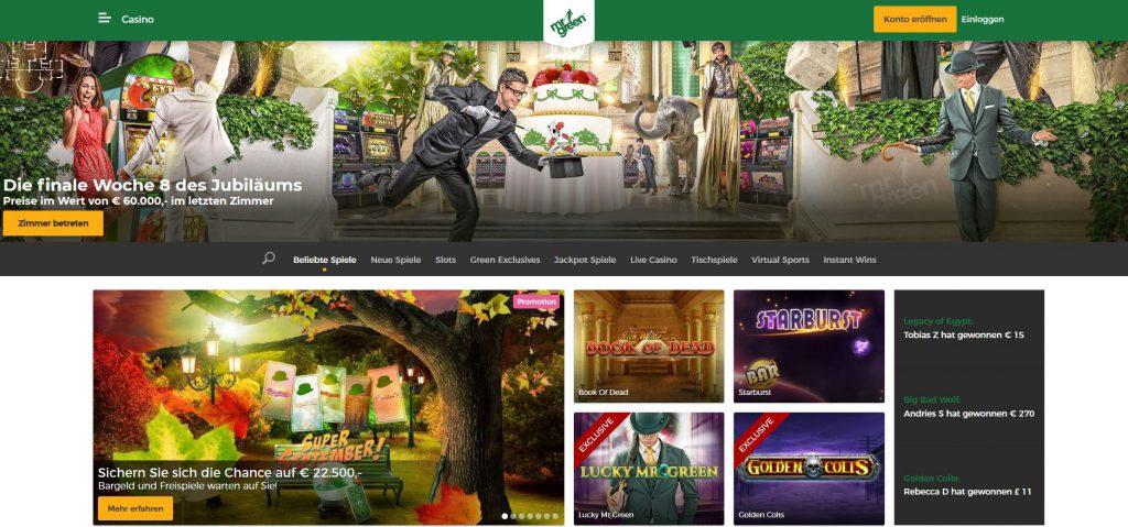 Mr.Green Casino Test